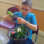 Green fingered Scouts and Explorers