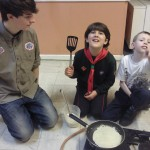 Pancakes and  The Marshmallow Challenge