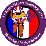 Beavers go French for the Regional Beaver badge